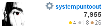 profile for systempuntoout at Stack Apps, Q&A for apps, scripts, and development with the Stack Exchange API